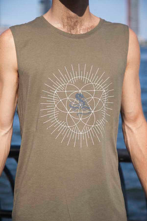 Load image into Gallery viewer, Mens Jivamukti Muscle Tank