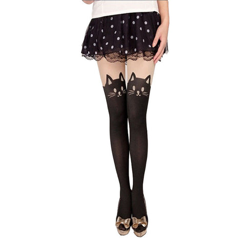 Fashion Cat Tights