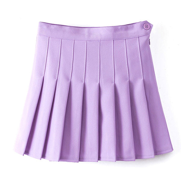 Korean Pleat Lolita Sexy Skirt