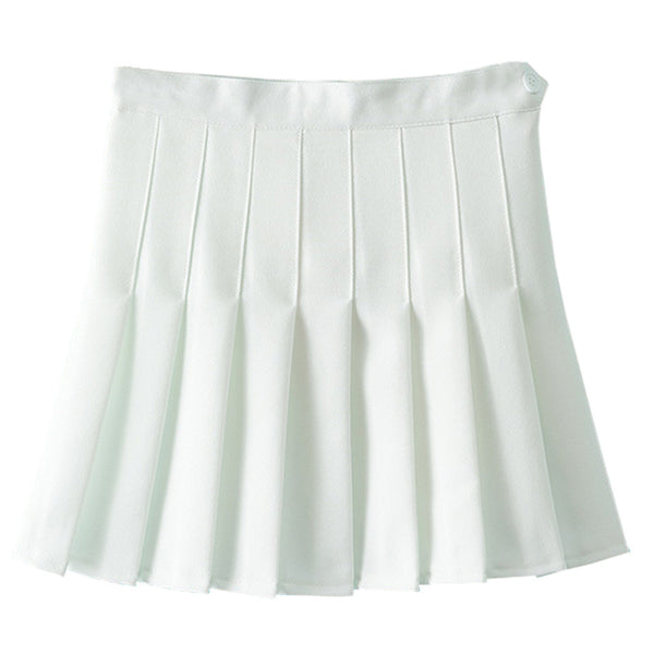 Korean Pleat Lolita Sexy Skirt - WearTF!