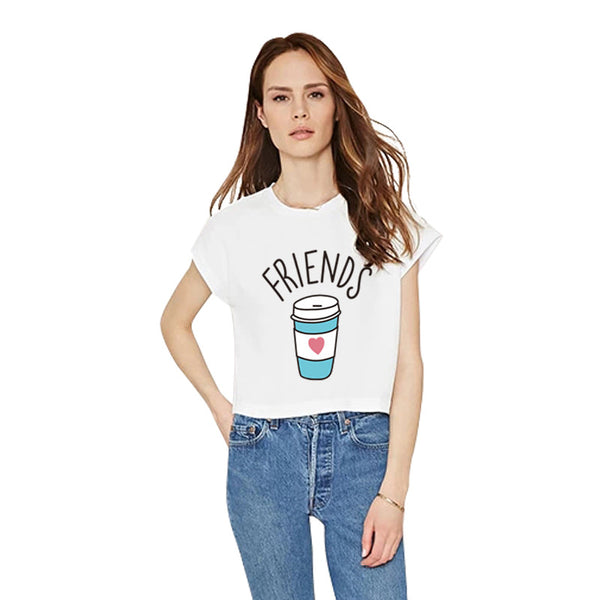 Best Friends Donut And Coffee Duo T Shirt