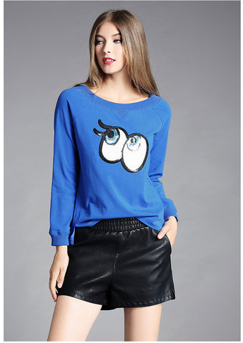 Blue Eyes Sweater - Extended Sizes