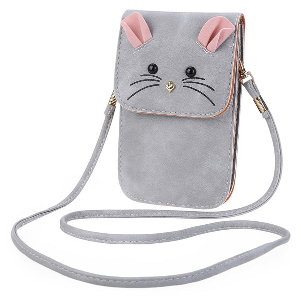 New Fashion PU Leather Mouse Shoulder Bag - WearTF!