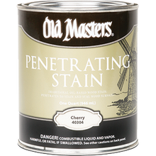OLD MASTERS 40304 CHERRY PENETRATING STAIN OIL-BASED