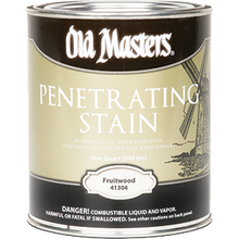 OLD MASTERS 41304 FRUITWOOD PENETRATING STAIN