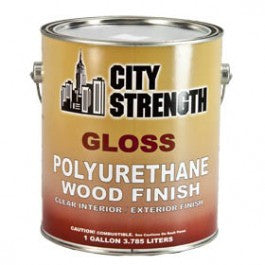 CITY STRENGTH GLOSS 350 VOC POLYURETHANE