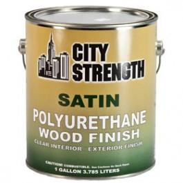 CITY STRENGTH SATIN 350 VOC POLYURETHANE