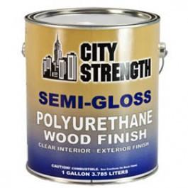 CITY STRENGTH SEMI-GLOSS 350 VOC POLYURETHANE