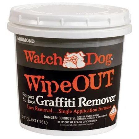 Dumond Chemicals 8432 Watch Dog Wipe Out Porous Surface Graffiti Remover, 1-Quart