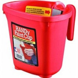 BERCOM 1500-CT HANDY PAINT CUP 16OZ WITH MAGNETIC BRUSH HOLDER