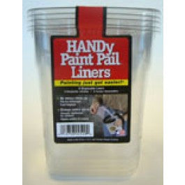BERCOM 2520 6 PACK HANDY PAINT PAIL DISPOSABLE LINERS