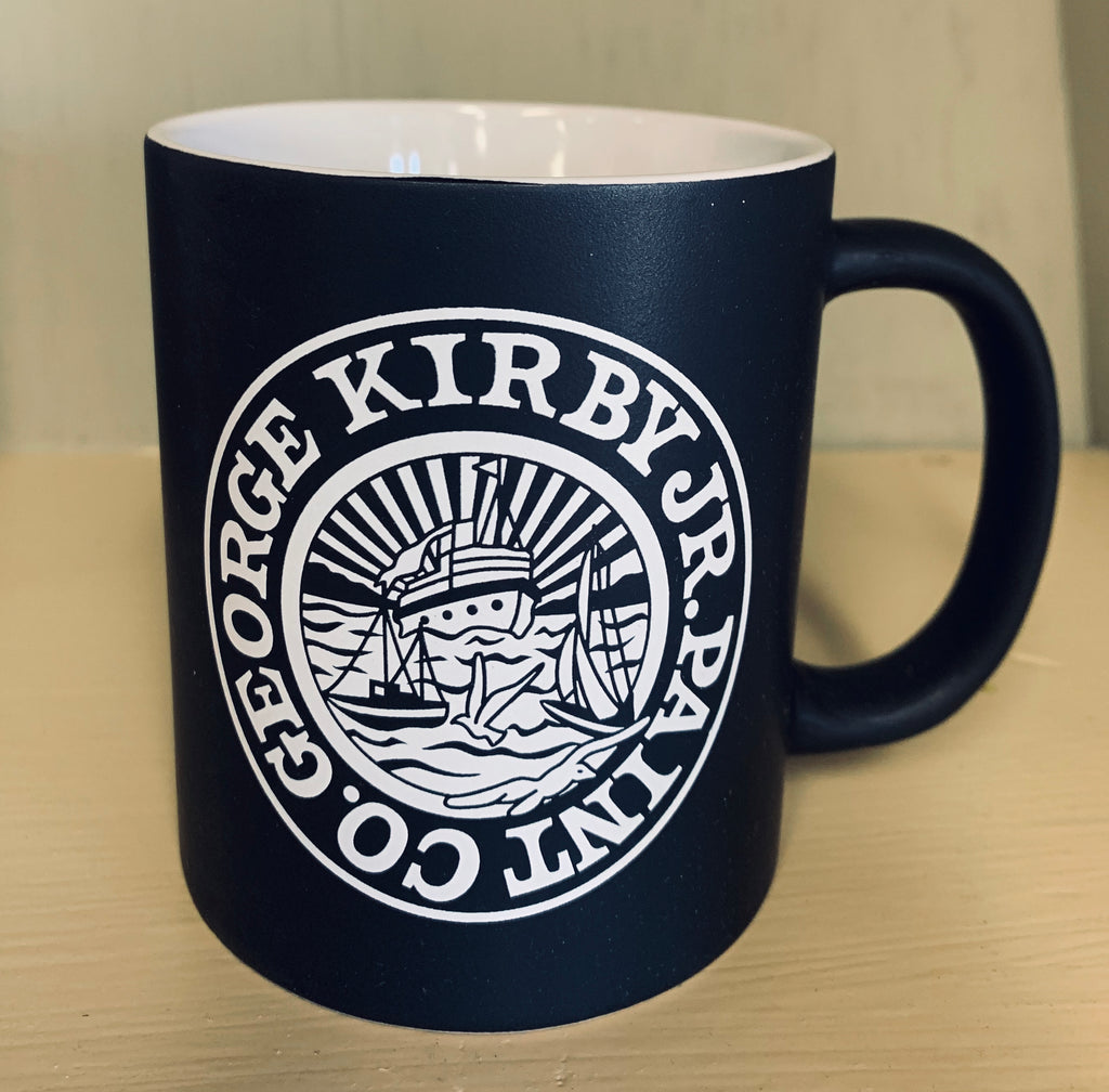 New! Kirby's Hull & Deck Logo Coffee Mug