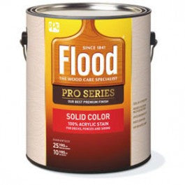 Flood Solid Color Stain FLD820-FLD822