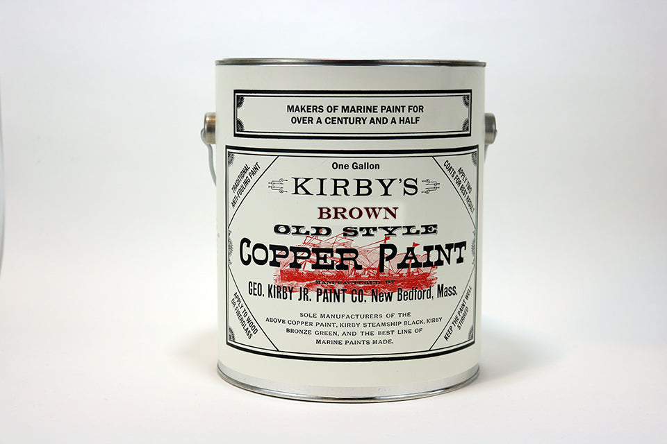 Copper Bottom Paint - Brown