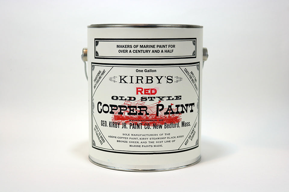 Copper Bottom Paint - Red