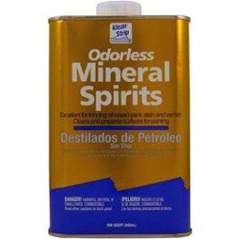KLEAN STRIP QKSP94005 ODORLESS MINERAL SPIRITS 1 QUART