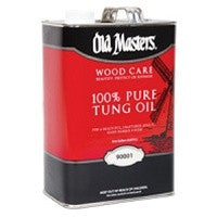 OLD MASTERS 90001 WOOD CARE 100% PURE TUNG OIL