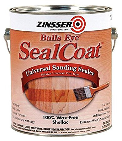 ZINSSER BULLS EYE SEAL COAT- Universal Sanding Sealer 100% wax-free shellac