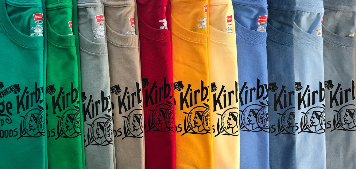 Kirby Logo Long-Sleeve T-shirts