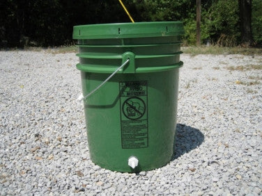 Water Bucket with Hose Connection