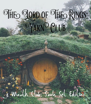 Lord of The Rings: The Two Towers Yarn Club - 3 Month Club: Sock Set Edition