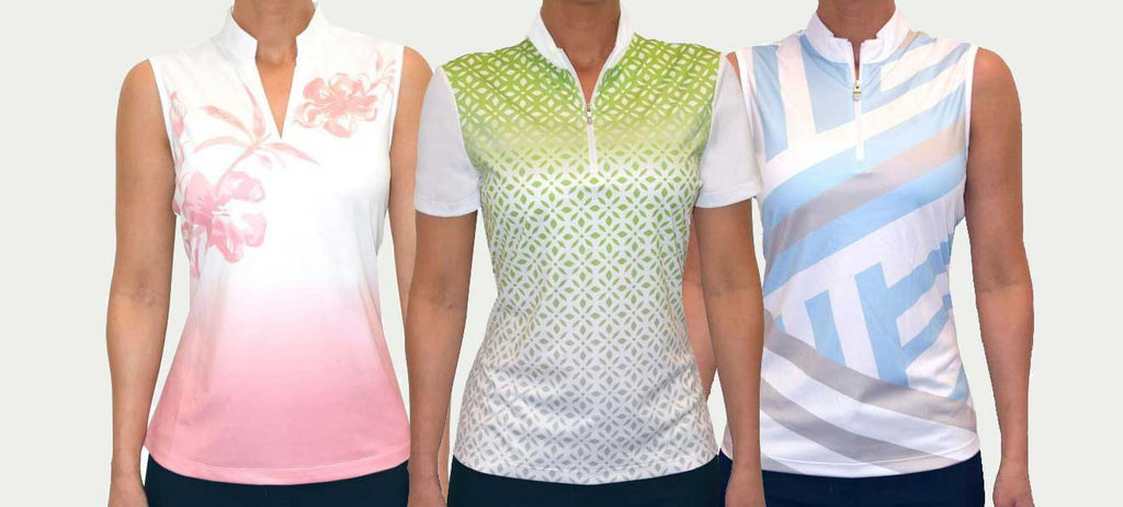 3 Women's polos for $99