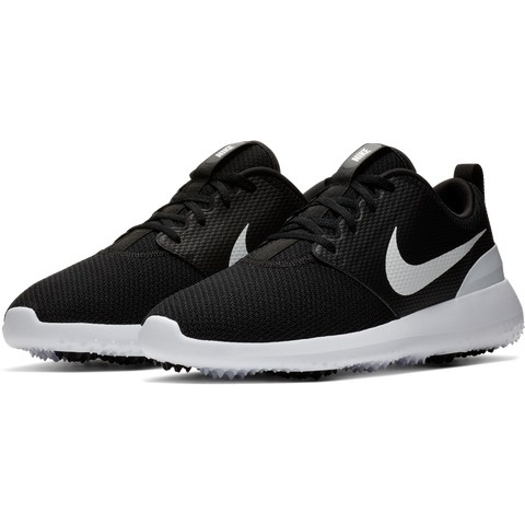 Nike Men's Roshe G Golf Shoes - Black/White