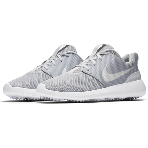 Nike Men's Roshe G Golf Shoes - Pure Platinum/White