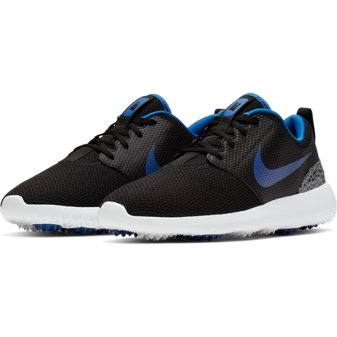 Nike Men's Roshe G Golf Shoes - Black/Game Royal