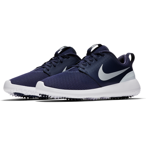 Nike Men's Roshe G Golf Shoes - Thunder Blue/White