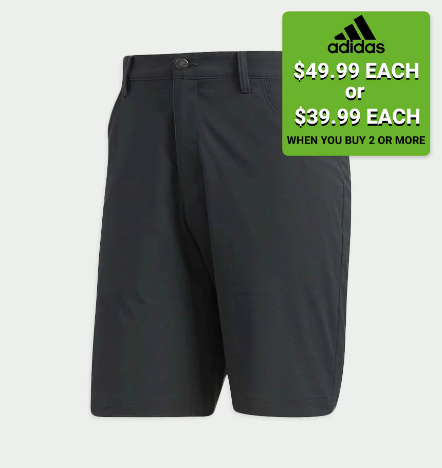 ADICROSS BEYOND18 FIVE-POCKET SHORTS (CARBON)