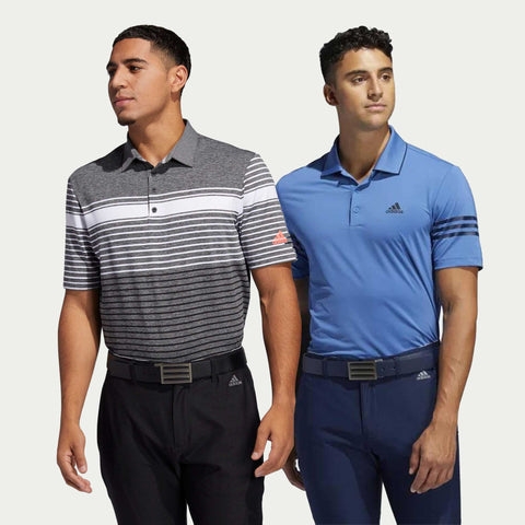 New Styles! 2 for 1 Men's Adidas Polos