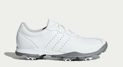 Adidas adipure DC Women's Golf Shoes - White/Silver