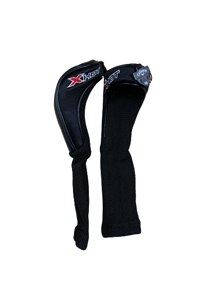 Two Callaway Hybrid Head Covers