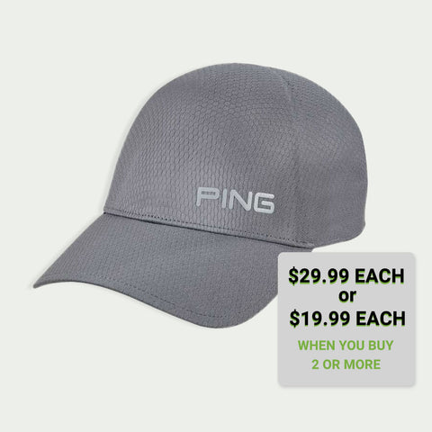 Ping Tech Fitted Hat Fits head Sizes MED to XL