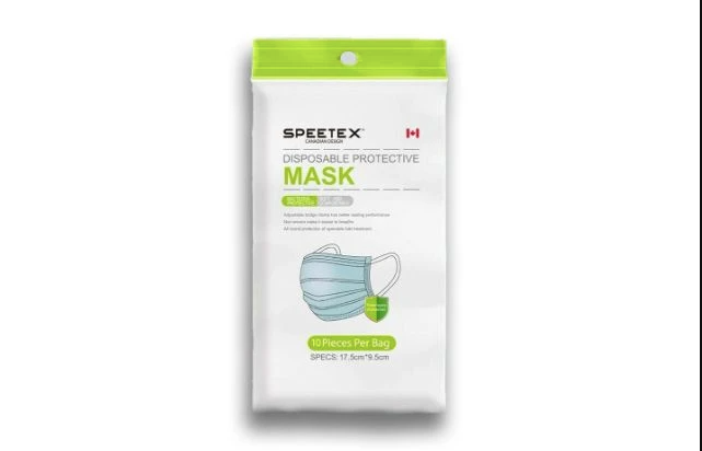 10 x 5 Pack of Disposable Masks