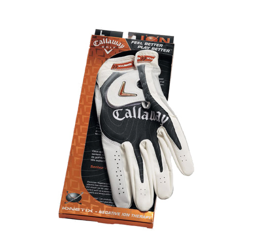 Callaway Ion Series Men's Golf Gloves RH for Left Handed Golfers
