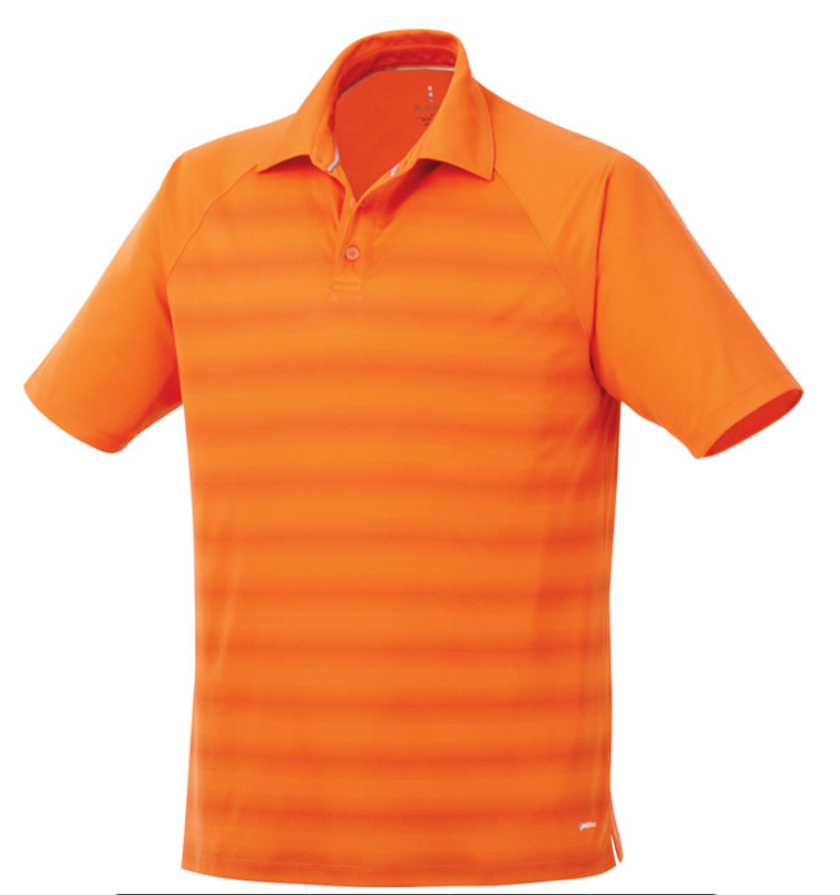 MEN'S SHIMA SHORT SLEEVE POLO (2 Pack Orange/Blue)
