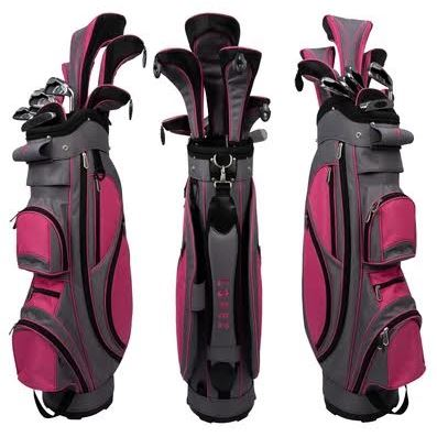 Nancy Lopez Complete Ladies Golf Sets (Left Handed)