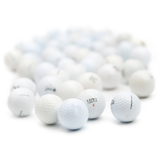 60 Pristine Golf Balls (No logos/player marks) - Assorted Brands (recycled)