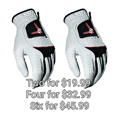 Chev18 Mens 2, 4, or 6 Callaway RH Gloves (for Left Handed Golfers)