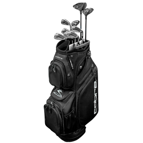 Men's Cobra F8 Complete Set (9 Clubs + Bag) All Clubs Have Graphite Shafts