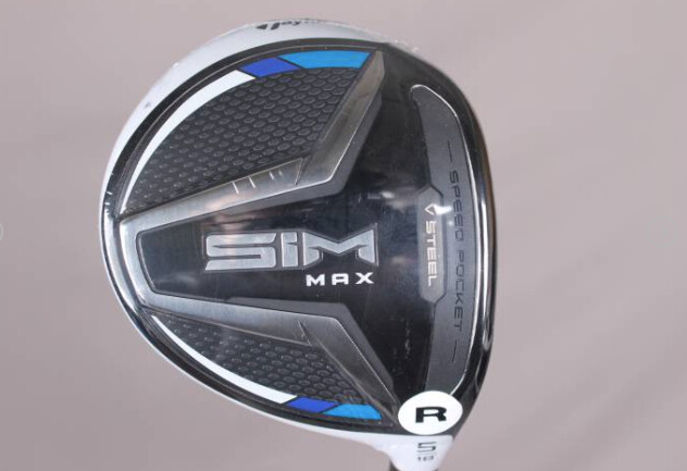 BRAND NEW with Headcover! SIM Max Fairway Wood (Regular Flex)