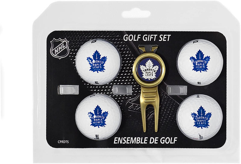 Licensed NHL Toronto Maple Leafs Golf Gift Set with Mircofibre Towel
