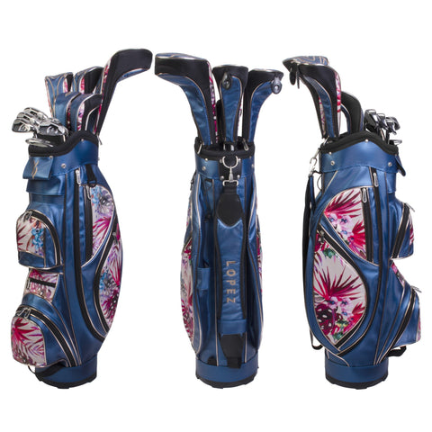 Nancy Lopez Ashley Package Set Blue Floral (Right Hand)