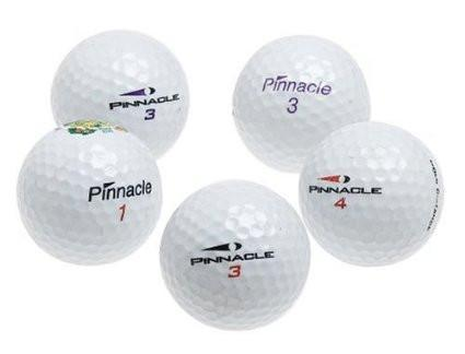 5 Dozen Pinnacle MIX Golf Balls - Assorted Styles (recycled)