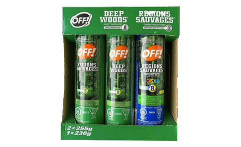 3-Pack of OFF! Insect Repellent