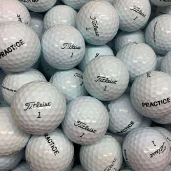 10 Dozen Titleist Practice Golf Balls (recycled)