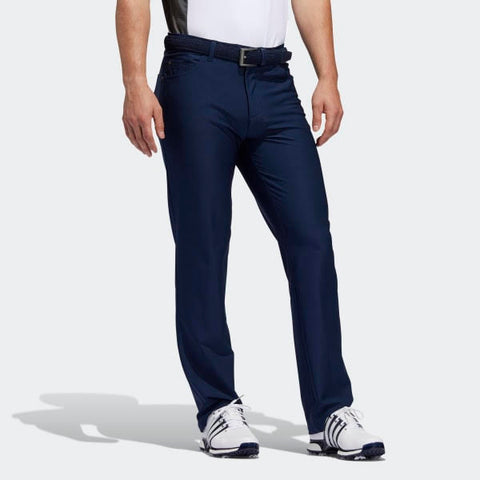 2 Pairs of Five Pocket Adidas Golf Pants (1 Pair of Navy & 1 Pair of Grey)