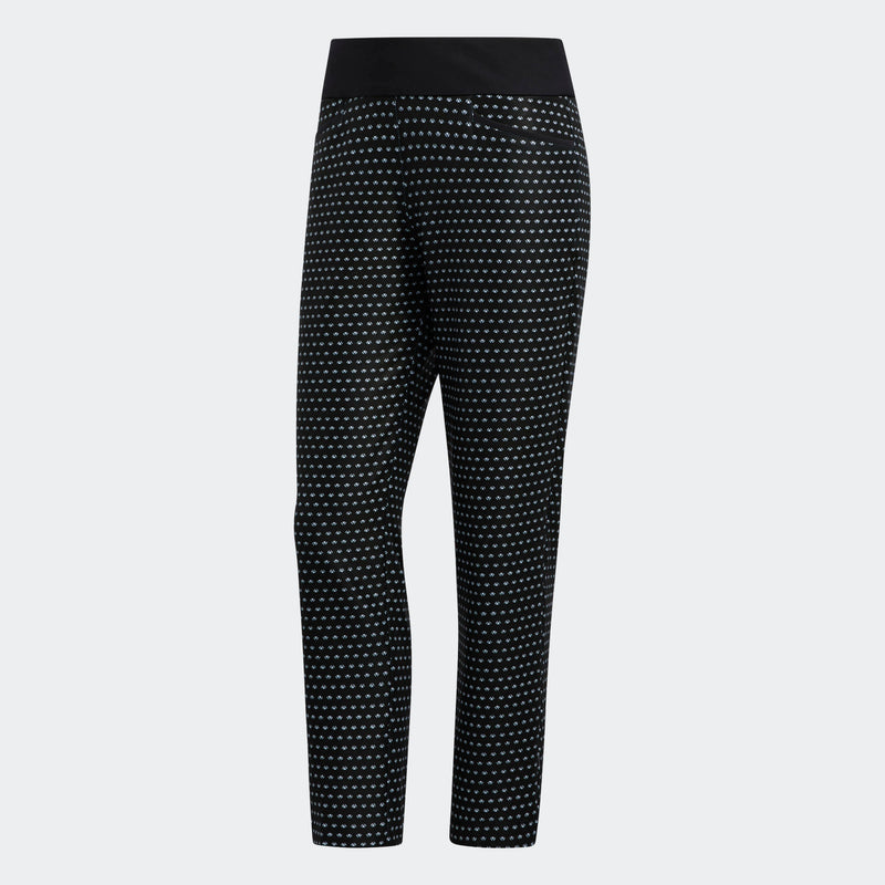 Ladies Adidas PRINTED PULL-ON ANKLE PANTS